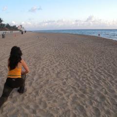 Yoga at the Beach, Miami