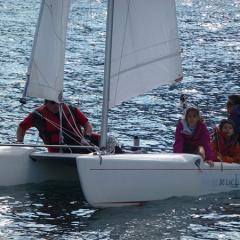 Sailing in Garda See