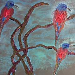 Ice Bird, Acryl 2012